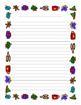 "Writing unit ""Christmas Book"" middle of the year writing project"