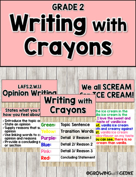 Writing with Crayons