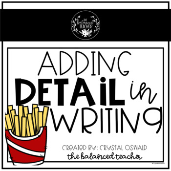 Adding Detail to Writing