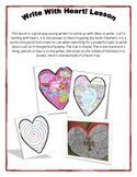 Writing with Heart - mini lessons and handout