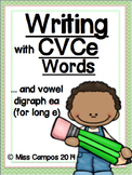 Writing with Long Vowels - 5 Little Books for CVCe words
