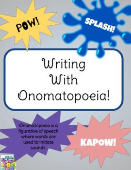 Writing with Onomatopoeia!