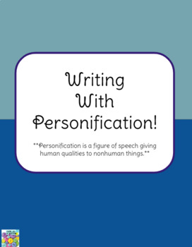 Writing with Personification!