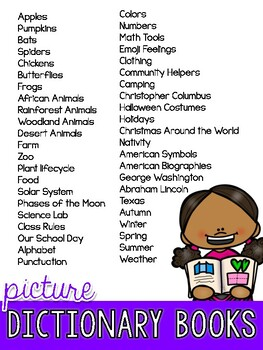 Writing with Picture Dictionaries