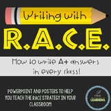 *RACE Strategy Guide* -- Writing AMAZING responses in every class!