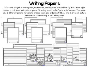 Writing with Rubrics and More! {BUNDLE}