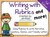 Writing with Rubrics and More! {Fall Edition}