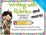 Writing with Rubrics and More! {Fun Themes Edition}