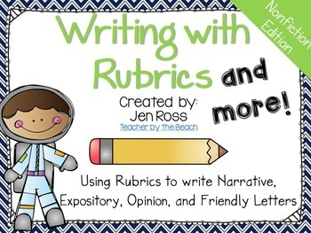 Writing with Rubrics and More! {Nonfiction Edition}