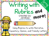 Writing with Rubrics and More! {Spring Edition}
