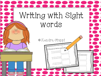 Writing with Sight Words Super Set!