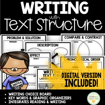 Writing with Text Structure Guide