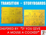 Writing with Transitions- ELA Creative Storyboards