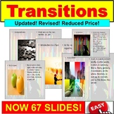 Writing with Transitions : PowerPoint Unit