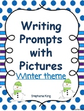 Writing with picture prompts - winter theme Freebie