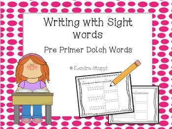 Writing with sight words