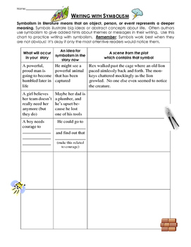 Writing with symbolism - Lesson and practice worksheet page by ...