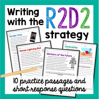 Writing with the R2D2 Strategy