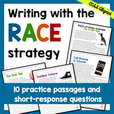 Distance Learning Writing with the RACE Strategy Independent Work