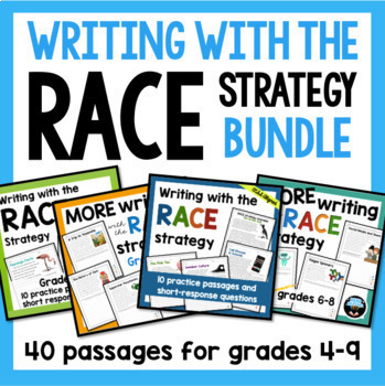 Writing with the RACE Strategy BUNDLE