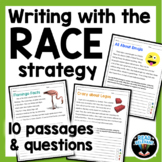 Distance Learning Writing with the RACE Strategy Grades 4-6 Independent Work