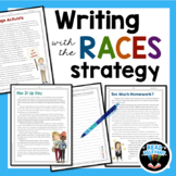 RACES Strategy Writing Passages and Prompts for Text Evidence