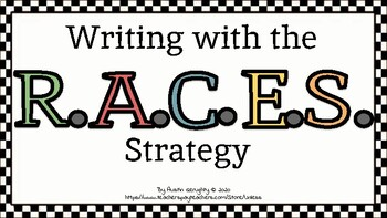 Writing with the RACES Strategy