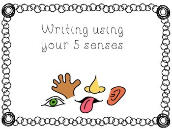 Writing with your 5 senses