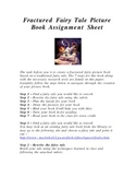 Writing your Own Fractured Fairy Tale Assignment