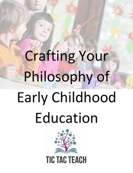 Writing your Philosophy of Early Childhood Education