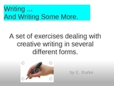 Writing.....And Writing Some More !
