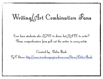 Writing & Art Combination Task Cards