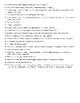 Writing/Essay True/False Quiz and KEY (50 q)