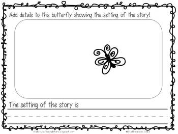 Writing/Reading Comprehension {All about BUTTERFLIES} ResearchInformationalText