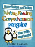 Writing/Reading Comprehension {All about PENGUINS} Research Informational Text