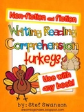 Writing/Reading Comprehension {All about TURKEYS} Research Informational Text