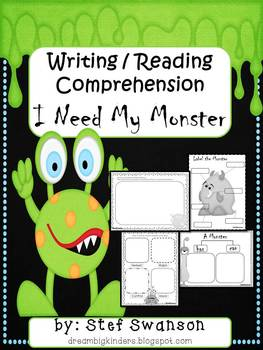 I Need My Monster {Writing/Reading Comprehension}