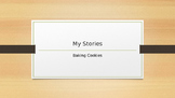 My Stories: Baking Cookies - Modeling Writing and Writing