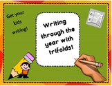 Writng Through the Year with Trifolds: Fun Writing Activities