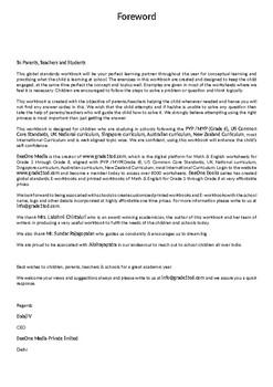 Written Calculation: Grade 5 Maths Workbook from www.Grade1to6.com Books