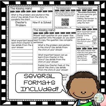 Written Comprehension 2nd Grade Prepare for mClass TRC Questions