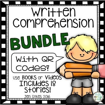 Written Comprehension Bundle 2nd 3rd Prepare for mClass TRC Questions