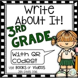 Write About It - Comprehension 3rd Grade Bundle Prep mClass TRC Questions
