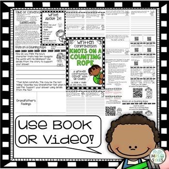 Write About It - Comprehension 3rd Grade Bundle Prep mClass TRC Questions