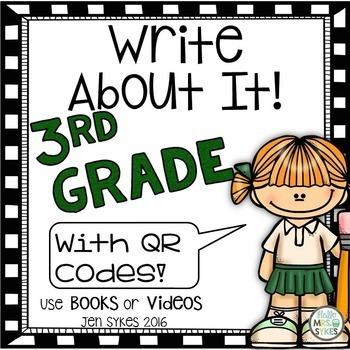 Write About It - Comprehension 3rd Grade Prepare for mClas