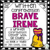 Written Comprehension - Brave Irene mClass TRC Questions