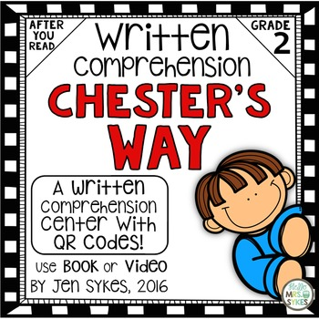 Written Comprehension - Chester's Way with QR code mClass TRC Questions