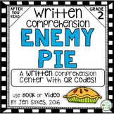 Written Comprehension - Enemy Pie with QR code mClass TRC