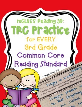 Written Comprehension Practice (Common Core Aligned - 3rd