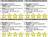 Written Comprehension Rubric- RAP Strategy